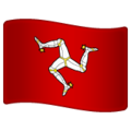 Flag: Isle of Man on WhatsApp 2.19.352