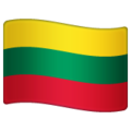 Flag: Lithuania on WhatsApp 2.19.352