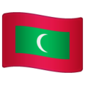 Flag: Maldives on WhatsApp 2.19.352