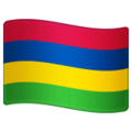 Flag: Mauritius on WhatsApp 2.19.352