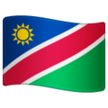 Flag: Namibia on WhatsApp 2.19.352