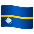 Flag: Nauru on WhatsApp 2.19.352