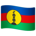 Flag: New Caledonia on WhatsApp 2.19.352