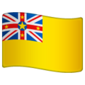 Flag: Niue on WhatsApp 2.19.352