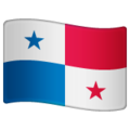 Flag: Panama on WhatsApp 2.19.352