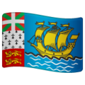 Flag: St. Pierre & Miquelon on WhatsApp 2.19.352
