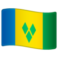 Flag: St. Vincent & Grenadines on WhatsApp 2.19.352