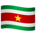 Flag: Suriname on WhatsApp 2.19.352