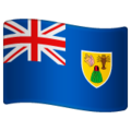 Flag: Turks & Caicos Islands on WhatsApp 2.19.352