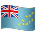 Flag: Tuvalu on WhatsApp 2.19.352
