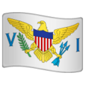 Flag: U.S. Virgin Islands on WhatsApp 2.19.352
