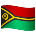 Flag: Vanuatu on WhatsApp 2.19.352