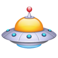 Flying Saucer on WhatsApp 2.19.352