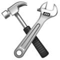 Hammer and Wrench on WhatsApp 2.19.352