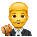Man Judge on WhatsApp 2.19.352