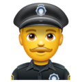 Man Police Officer on WhatsApp 2.19.352