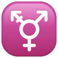 Transgender Symbol on WhatsApp 2.19.352