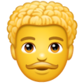 Man: Curly Hair on WhatsApp 2.19.352