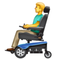 Man in Motorized Wheelchair on WhatsApp 2.19.352