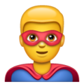 Man Superhero on WhatsApp 2.19.352