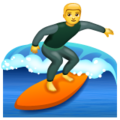 Man Surfing on WhatsApp 2.19.352