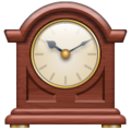 Mantelpiece Clock on WhatsApp 2.19.352