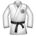 Martial Arts Uniform on WhatsApp 2.19.352