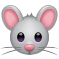 Mouse Face on WhatsApp 2.19.352