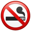 No Smoking on WhatsApp 2.19.352