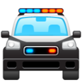 Oncoming Police Car on WhatsApp 2.19.352