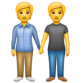 People Holding Hands on WhatsApp 2.19.352