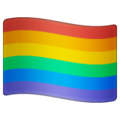 Rainbow Flag on WhatsApp 2.19.352