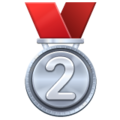 2nd Place Medal on WhatsApp 2.19.352