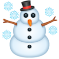 Snowman on WhatsApp 2.19.352