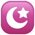 Star and Crescent on WhatsApp 2.19.352