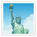 Statue of Liberty on WhatsApp 2.19.352