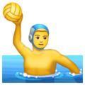 Person Playing Water Polo on WhatsApp 2.19.352