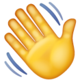 Waving Hand on WhatsApp 2.19.352
