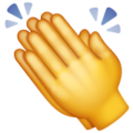Clapping Hands on WhatsApp 2.20.198.15