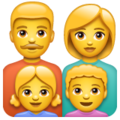 Family: Man, Woman, Girl, Boy on WhatsApp 2.20.198.15