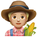Farmer: Medium-Light Skin Tone on WhatsApp 2.20.198.15