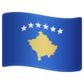 Flag: Kosovo on WhatsApp 2.20.198.15