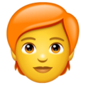 Person: Red Hair on WhatsApp 2.20.198.15