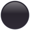 Black Circle on WhatsApp 2.20.206.24