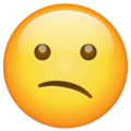 Confused Face on WhatsApp 2.20.206.24