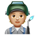 Factory Worker: Medium-Light Skin Tone on WhatsApp 2.20.206.24