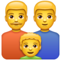 Family: Man, Man, Boy on WhatsApp 2.20.206.24