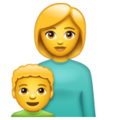 Family: Woman, Boy on WhatsApp 2.20.206.24