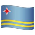Flag: Aruba on WhatsApp 2.20.206.24