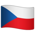 Flag: Czechia on WhatsApp 2.20.206.24